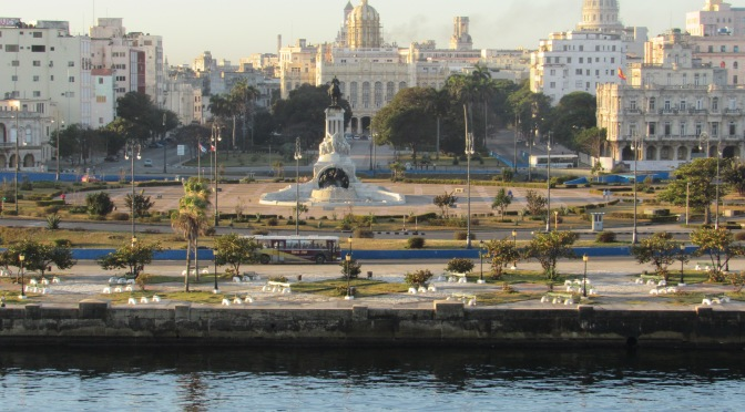 M is for the Malecon in Havana