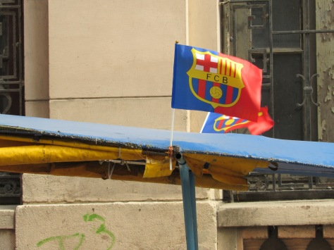 Even in Havana I find supporters of my favourite team! Forca Barca!