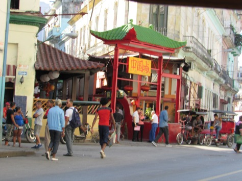 China town in Havana