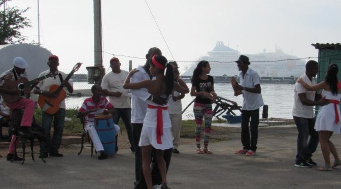 """X is for """"X""""tras treats at Antilla Cuba"""