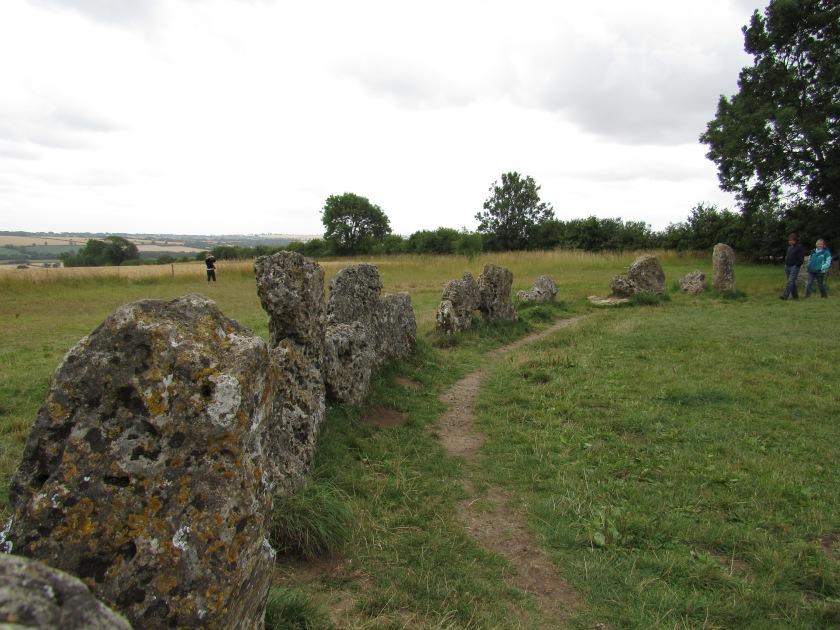 The King's Men stone circle