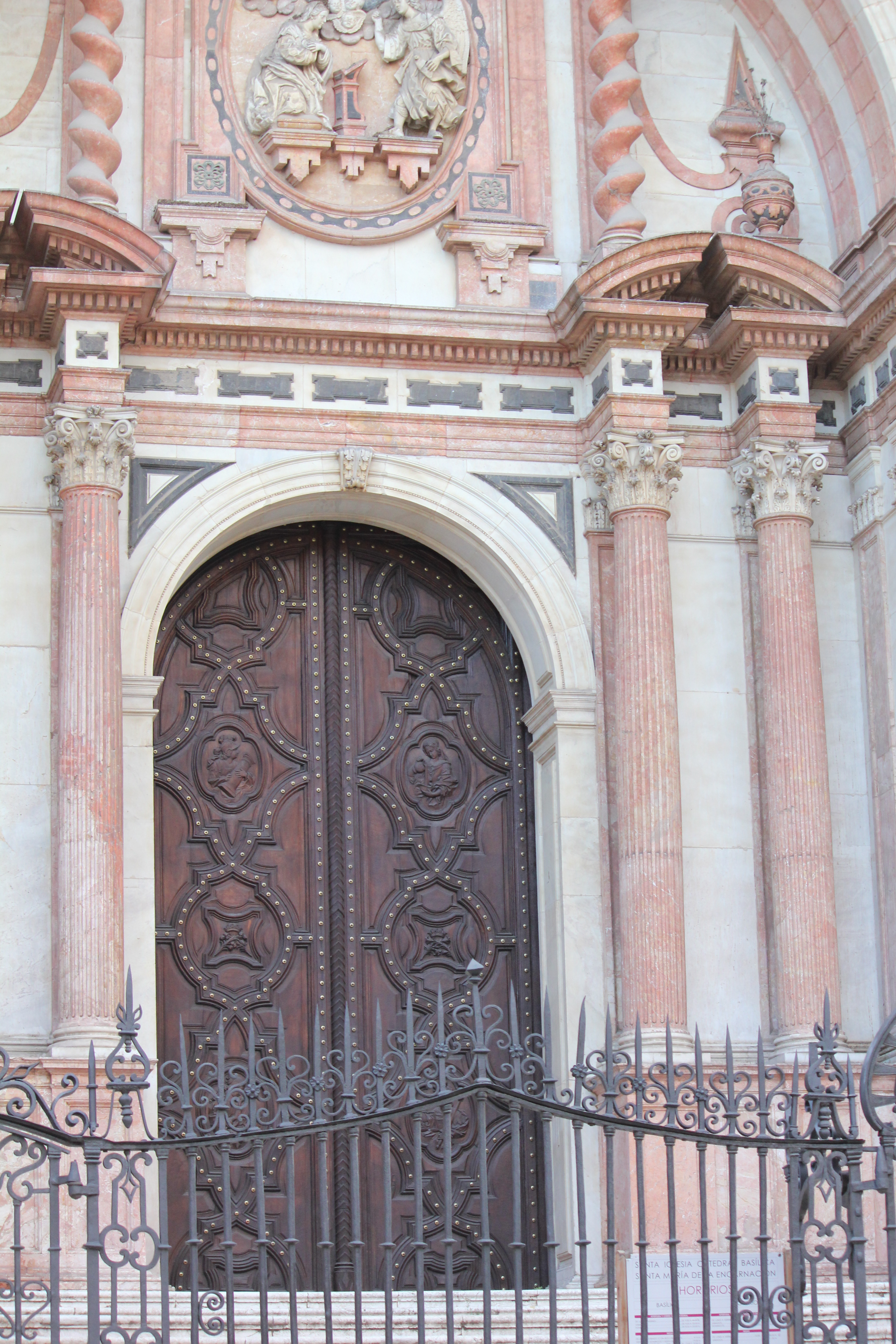 Malaga Cathedral doors & A day in Malaga u2013 Astral Traveller