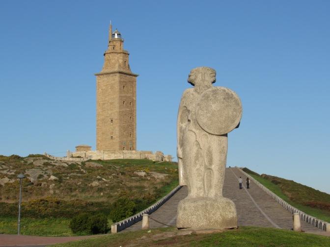 La Coruna and the Torre de Hercules