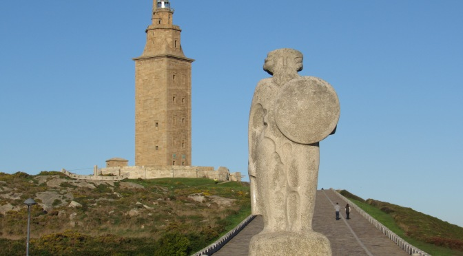 La Coruna and the Torre de Hercules