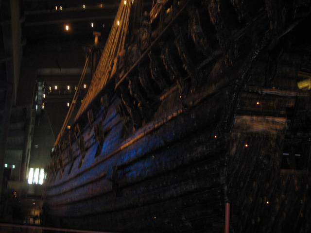 V is for the Vasa Museum
