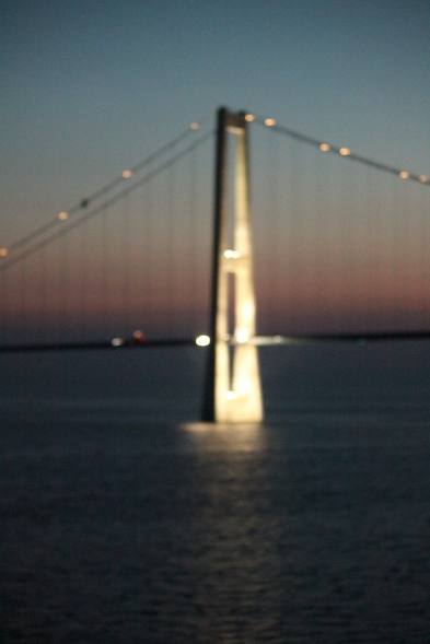 Midnight sail under in June