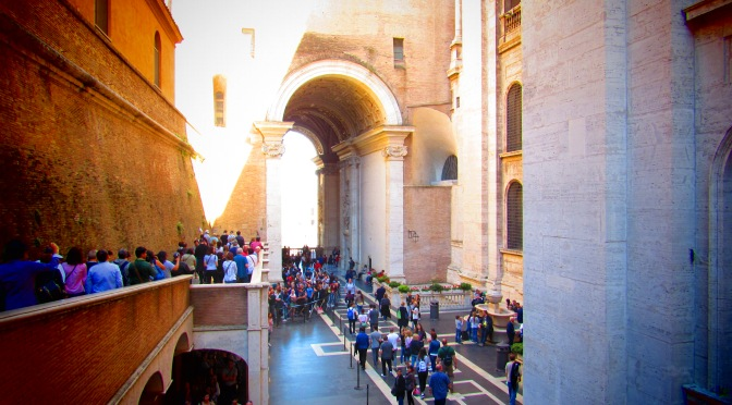 Vatican Museum and how to dodge tour groups